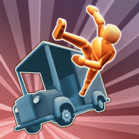 Turbo Dismount (App เกมส์จำลองรถชน)