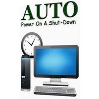 Auto Power On And Shut Down (โปรแกรมสั่งการคอมฯ อัตโนมัติ)