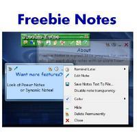 Freebie Notes (โปรแกรม Freebie Notes จดโน๊ต แจ้งเตือนความจำ)