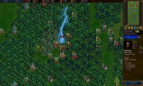 เกมส์วางแผนการรบ The Battle for Wesnoth