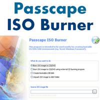 Passcape ISO Burner (ไรท์แผ่น CD DVD จาก ISO อิมเมจไฟล์) :