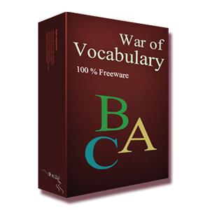 War of Vocabulary (ฝึกภาษาอังกฤษ ในรูปแบบเกมส์) :