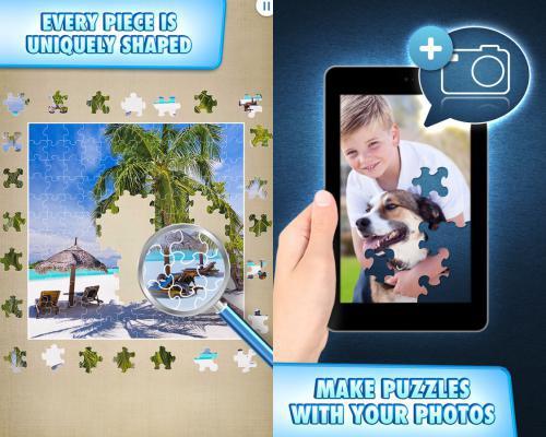 โหลดเกมส์ Jigty Jigsaw Puzzles