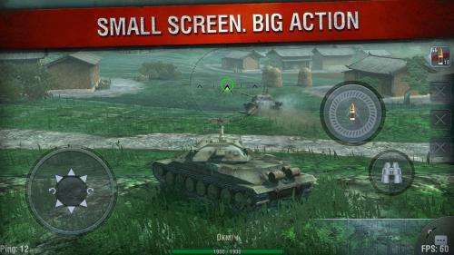 เกมส์ขับรถถัง World of Tanks Blitz