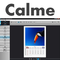Calme (โปรแกรม Calme ทำปฏิทิน พิมพ์ตารางนัด รายเดือน รายปี)