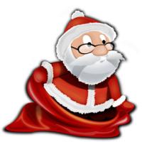 Christmas Eve Crisis (เกมส์ ช่วยซาต้าหาของขวัญ ที่หล่นหายไป)