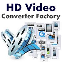 HD Video Converter Factory (โปรแกรมแปลงไฟล์วีดีโอ ตัดต่อ แก้ไขวีดีโอ ฟรี) :