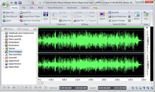ดาวน์โหลดโปรแกรม  Audio Editor 2014
