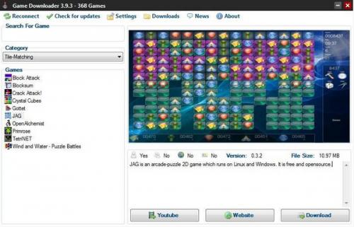 ดาวน์โหลดโปรแกรม Game Downloader
