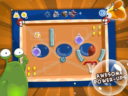 App เกมส์ชู้ตลูกบาส Swish