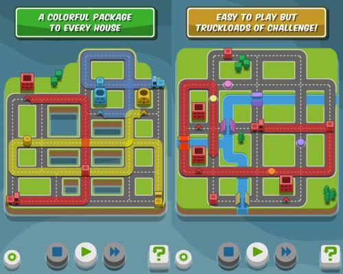 เกมส์ขับรถส่งสี RGB Express