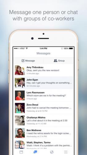 App การทำงานFacebook at Work