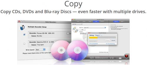 โปรแกรมไรท์แผ่น DVD