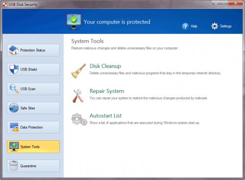 โปรแกรมป้องกันไวรัส Flash Drive