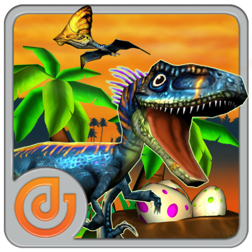 Dino Little Run (App เกมส์วิ่งไดโนเสาร์ 3 มิติ โดยคนไทย) :
