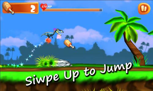 เกมส์ไดโนเสาร์ Dino Little Run