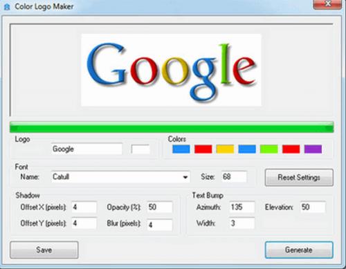 ดาวน์โหลดโปรแกรม Color Logo Maker