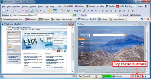 เว็บเบราว์เซอร์ Crazy Browser