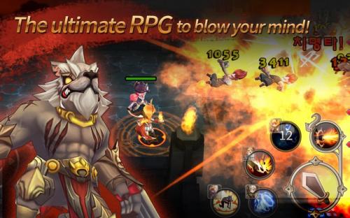 Soul Seeker (App เกมส์ต่อสู้ตะลุยด่านสไตล์เกาหลี) :