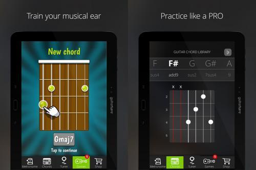 App ตั้งสายกีต้าร์ จูนสายกีต้าร์ Guitar Tuner Free