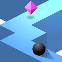 ZigZag (App เกมส์พัซเซิล บังคับลูกบอลไปตามทาง)