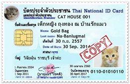 โปรแกรมดูเลขบัตรประชาชน Personal ID Card Identifier