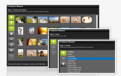 โปรแกรมสร้างสไลด์รูปภาพพร้อมเสียง ProShow Producer