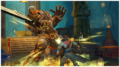 App เกมส์มือดาบพิฆาต Stormblades