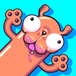 Silly Sausage in Meat Land (App เกมส์ไส้กรอกผจญภัย) :