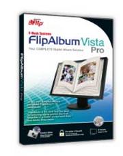 FlipAlbum Vista Pro (โปรแกรมสร้าง อัลบั้มรูปภาพ 3 มิติ) :