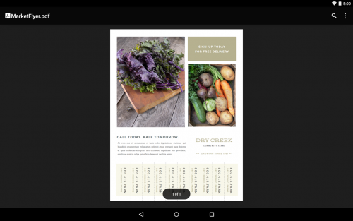 App เปิดไฟล์เอกสาร PDF