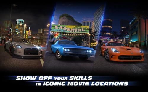 App เกมส์แข่งรถเดอะฟาสต์