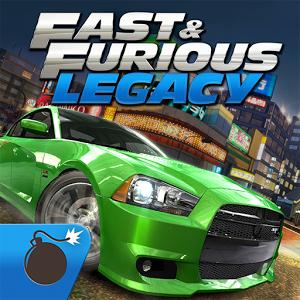 Fast Furious Legacy (App เกมส์แข่งรถเดอะฟาสต์) :