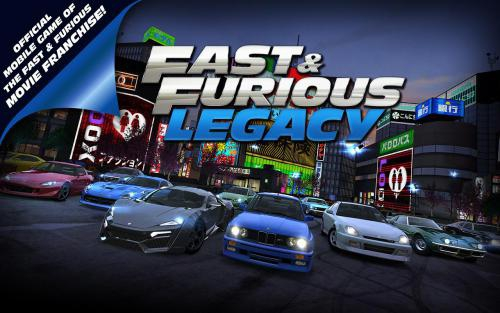 โหลดเกมส์ Fast Furious Legacy