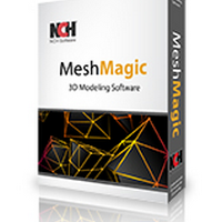 MeshMagic 3D (โปรแกรม MeshMagic ออกแบบสามมิติ เปิดไฟล์ STL)