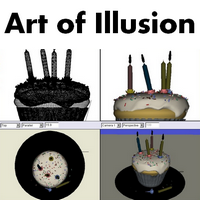 Art of Illusion (โปรแกรม Art of Illusion ออกแบบโมเดล 3 มิติ ฟรี)