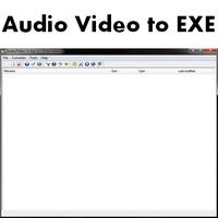 Audio and Video to EXE (โปรแกรมแปลงวีดีโอ เสียง เป็น exe)