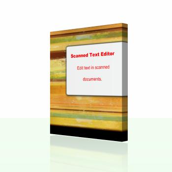 Scanned Text Editor (แก้ไขไฟล์เอกสารที่ถูกสแกนมา แบบเนียนๆ) :