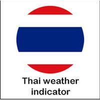 Thai weather indicator (App รายงานสภาพอากาศ)