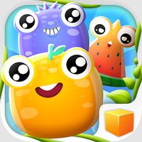Fusion Two (App เกมส์พัซเซิลผลไม้ 2048 ฟรี)