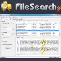 FileSearchy (โปรแกรม FileSearchy ค้นหาไฟล์ โฟลเดอร์ ละเอียดมาก)