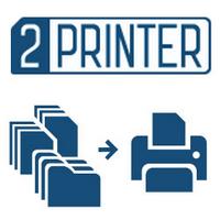 2Printer (สั่งพิมพ์เอกสาร 2Printer พร้อมๆ กันผ่านการพิมพ์คำสั่ง)