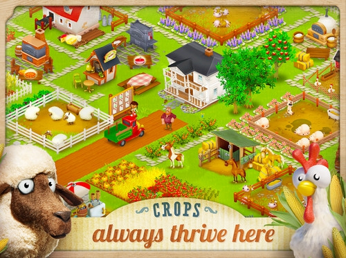 App เกมส์ Hay Day