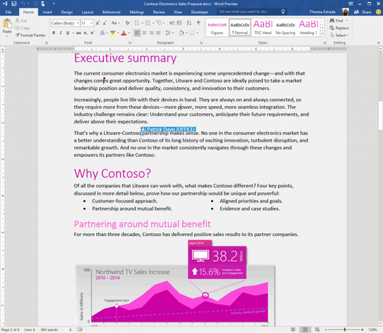Microsoft Office 2016 Preview :