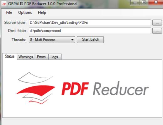 โปรแกรมย่อ ลดขนาดไฟล์ PDF Reducer Free