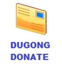 Dugong Donate (โปรแกรมพิมพ์ใบอนุโมทนาบัตร) :
