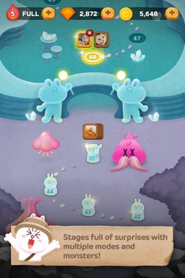 เกมส์ LINE Bubble 2