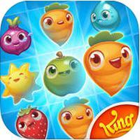 Farm Heroes Saga (App เกมส์เรียงผลไม้)