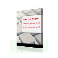 Paper Form Designer (โปรแกรม สร้างแบบฟอร์ม งานเอกสาร)