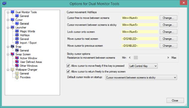 โปรแกรมควบคุม 2 หน้าจอคอมพิวเตอร์ (Dual Monitor Tools)